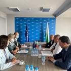 Председателят на ГЕРБ Бойко Борисов и неговите заместници Дончев и Митов се срещнаха с представители на Мисията за наблюдение на предсрочните парламентарни избори в България.
