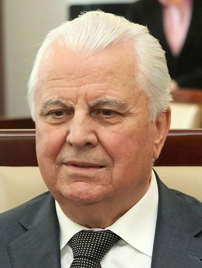 Бившият президент Леонид Кравчук СНИМКА: Уикипедия/The Chancellery of the Senate of the Republic of Poland