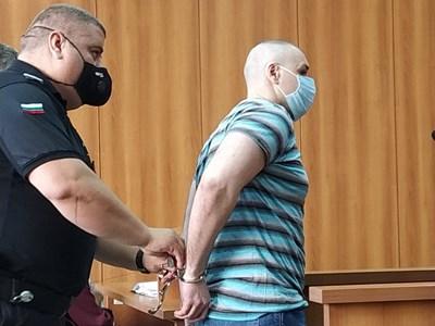 Здравко Дечкин в съда
