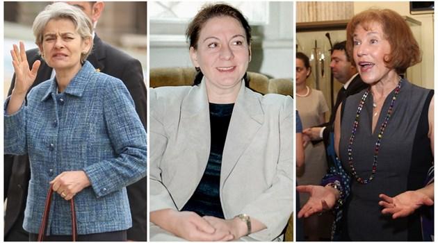 Възходът на червените фамилии. Едни от най-успелите са Ирина Бокова, и Елена Поптодорова - едната е в десетки бордове на световни компании, а другата - в неправителствена структура на НАТО