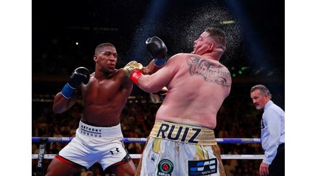 В сърцето на пустинята Джошуа и Руис пренаписаха историята на световния бокс