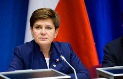 Полският премиер Беата Шидло СНИМКА: Ройтерс