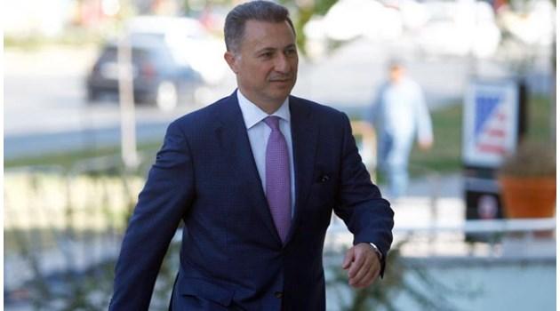 """Издирваният бивш македонски премиер Никола Груевски от Будапеща: """"Искам политическо убежище!"""""""