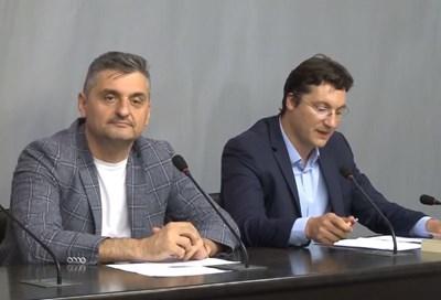 Зам.-шефът на БСП Кирил Добрев и зам.-шефът на червената група Крум Зарков се обявиха срещу отмяната на машинното гласуване.
