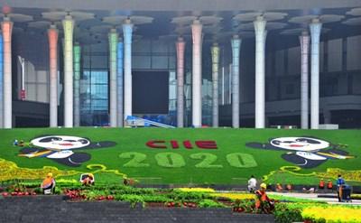 Подготовката за третото издание на Международно изложение за внос в Китай върви нормално