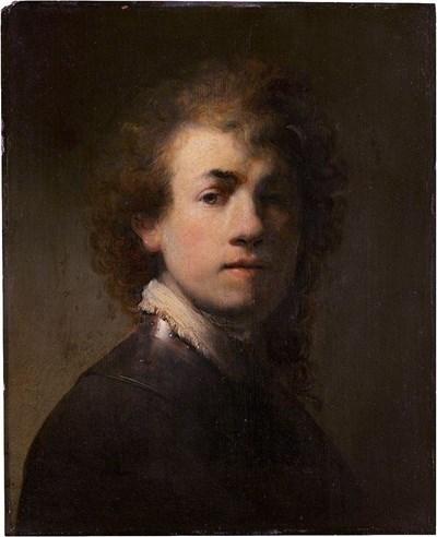 Автопортрет на Рембранд от 1629 г. СНИМКА: Уикипедия