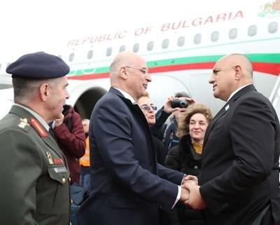 Никос Дендиас и Бойко Борисов СНИМКА: Министерският съвет