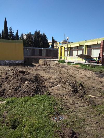 Строителните дейности по разширението на детската градина вече започнаха
