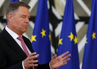 Президентът на Румъния Клаус Йоханис  СНИМКА: Ройтерс