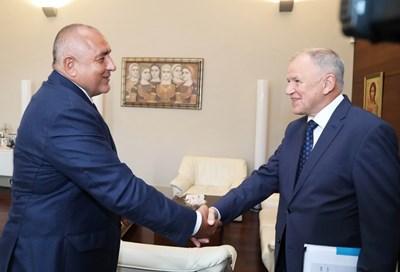 Премиерът Бойко Борисов обсъди с комисаря по здравеопазване Витянис Андрюкайтис помощта, която Европейската комисия ще окаже на България за справяне с последствията от чумата по свинете.