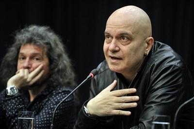 Трифонов с дясната си ръка в партията Тошко Йорданов
