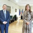 Екатерина Захариева: Имахме ползотворна среща с Любчо Георгиевски