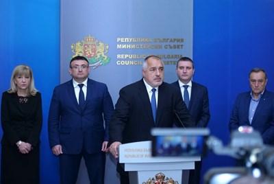Бойко Борисов съобщи, че няма да има винетка за Северната скоростна тангента. СНИМКА: Йордан Симеонов