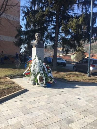 Преди 5 години в града е създаден монумент на Левски.