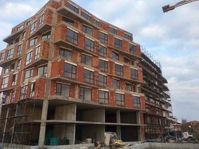 В Пловдив продължава да се строи, но търсенето намалява СНИМКА: Радко Паунов