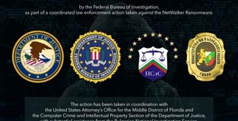 Разследващи от България помогнаха на ФБР за разбиване на схема за кибер рекет, ощетила фирми и институции с десетки милиони