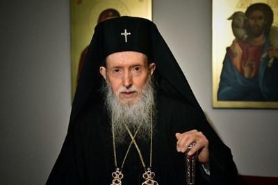 Негово Високопреосвещенство Сливенски митрополит Йоаникий. Сн. Сливенска митрополия