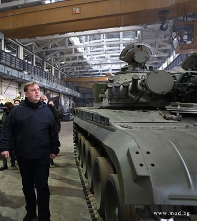 СНИМКИ: Министерство на отбраната