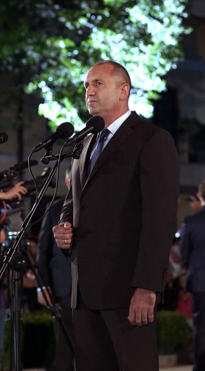 Румен Радев в Карлово СНИМКИ: прессекретариатът на държавния глава