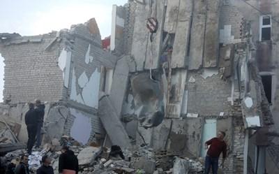 Земетресениято в Албания е с магнитуд 6,4 СНИМКА: Ройтерс