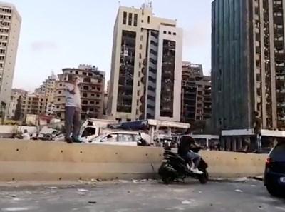 След взрива в Бейрут СНИМКА: Ройтерс