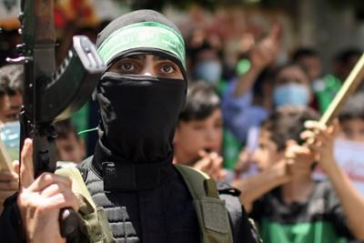 Член на Хамас СНИМКА: РОЙТЕРС