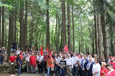 БСП отбеляза 130 години организирано социалистическо движение в България. СНИМКИ: ПРЕСЦЕНТЪР БСП