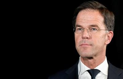 Холандският премиер Марк Рюте СНИМКА: Ройтерс
