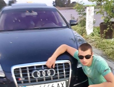 Арестуваният за убийството Стоян на 19 г. от Елхово. Снимка:фейсбук