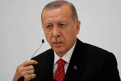 Реджеп Тайип Ердоган, Снимка: Ройтерс