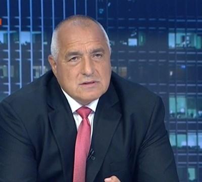 Бойко Борисов КАДЪР: БНТ