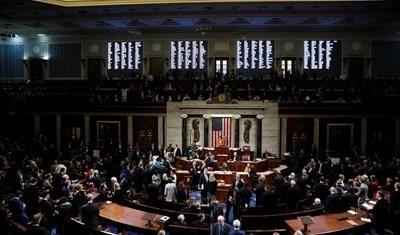 Гласуването в Камарата на представителите на американския Конгрес СНИМКА: Ройтерс