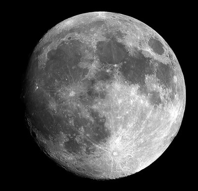 Луната. Снимка: Пиксабей