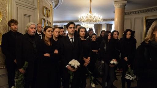 Студенти на проф. Стефан Данаилов застанаха на почетен караул