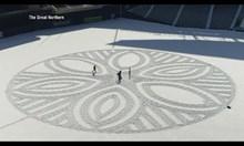 Рисунки в снега