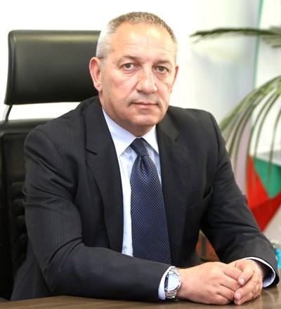 Министърът на младежта и спорта Андрей Кузманов. Снимка ММС
