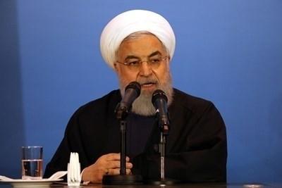 Президентът на Иран Хасан Рохани   СНИМКА: Ройтерс