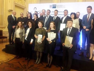 Наградите на германската икономика бяха връчени от Германо-българската индустриално-търговска камара в четири категории