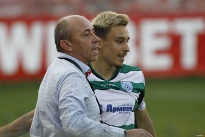 Илиян Илиев-младши поздрави баща си за рождения ден с два гола.