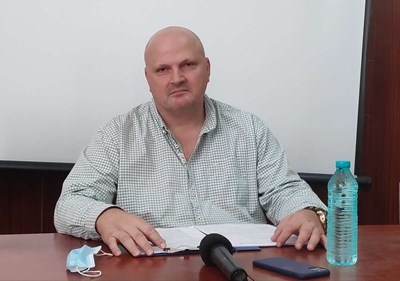 Д-р Стефан Филев СНИМКА: Авторката