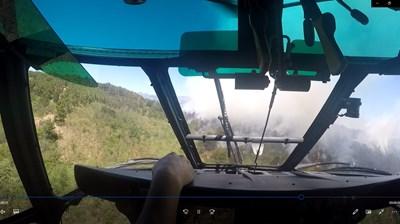 Кадър от акцията в село Михилци, община Хисаря Видео и снимка: МО