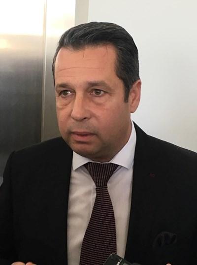 Зам.-кметът на Пловдив по транспорт Тодор Чонов СНИМКА: Радко Паунов