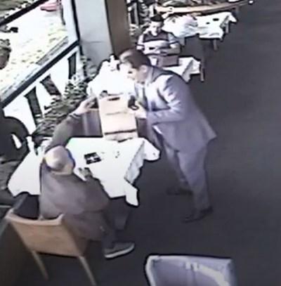 Пламен Узунов и Петко Петков в заведение Къдър от видео
