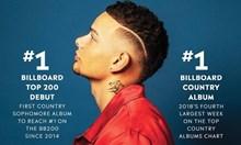 """Кейн Браун оглави класацията на """"Билборд"""" за албуми"""