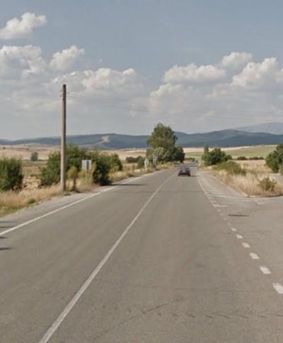 Пътят Кюстендил - София СНИМКА: Google Street View
