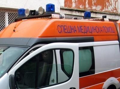 Сериозно е пострадал шофьорът на единия от двата камиона, катастрофирали при Прохода на Републиката (Хаинбоаз). СНИМКА: Архив