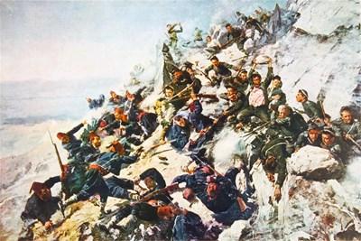 """Прочутата картина """"Опълченците на Шипка"""" - оказва се, че народният поет Вазов съвсем не е митологизирал историята на битката за върха."""