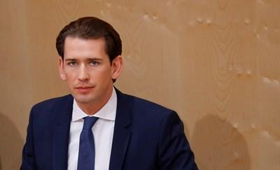 Австрийският канцлер Себастиан Курц СНИМКА: Ройтерс