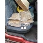 Пакетите с дрога, подготвена за продажба