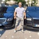 Иван Балабанов с част от автопарка си.